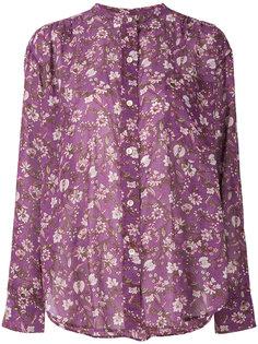 рубашка с цветочным принтом Isabel Marant Étoile