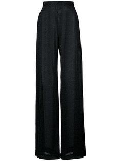 широкие брюки  из люрекса Rachel Comey