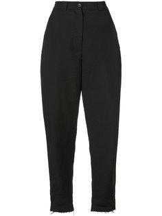 зауженные брюки с необработанным подолом Rachel Comey