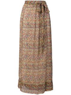 юбка миди с цветочным принтом Isabel Marant Étoile