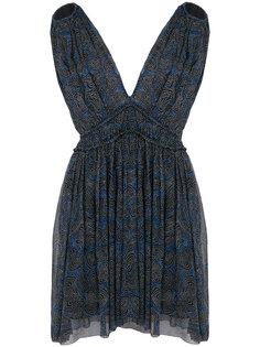 платье с глубоким V-образным вырезом Isabel Marant Étoile