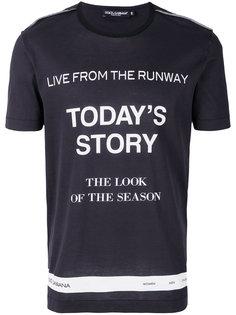 футболка Todays Story Dolce & Gabbana