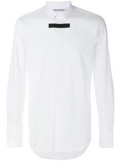 рубашка с контрастной полоской Neil Barrett
