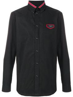 рубашка с нашивкой логотипа Givenchy
