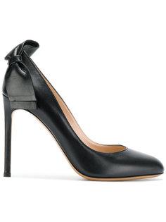 туфли на шпильках с бантом Valentino Garavani