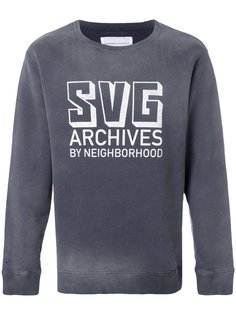толстовка SVG Archives с логотипом Neighborhood