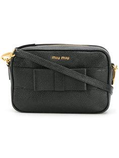 сумка через плечо с бантом Miu Miu