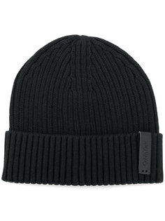 шапка ребристой вязки Calvin Klein