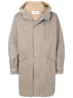 пальто оверсайз с капюшоном Mauro Grifoni