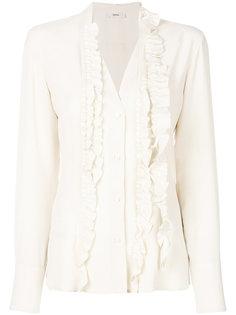 блузка с оборками Mauro Grifoni