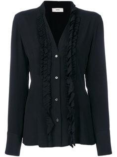 блузка с рюшами Mauro Grifoni