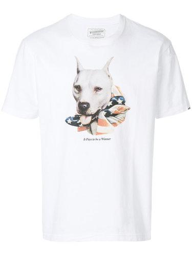 футболка с принтом собаки Neighborhood