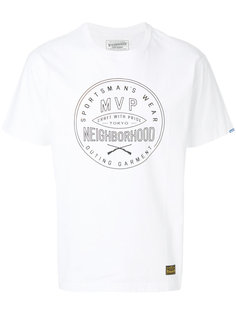 футболка с логотипом Neighborhood