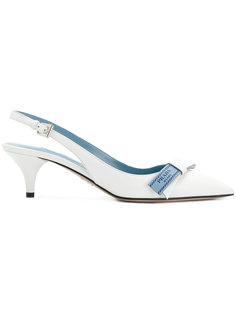 туфли с бантами Prada
