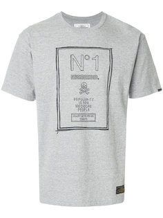 футболка с нашивкой логотипа Neighborhood