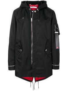 пальто с капюшоном Givenchy