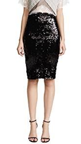 Loyd/Ford Sequin Pencil Skirt