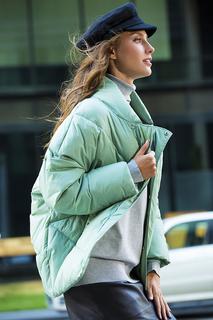 Мятная куртка на синтепоне Neohit