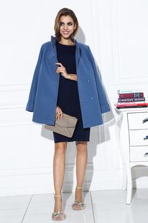Лаконичное пальто с воротником-стойкой La Reine Blanche