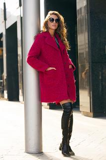 Женское буклированное пальто La Reine Blanche