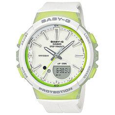Кварцевые часы женские Casio G-Shock Baby-g Bgs-100-7a2 White
