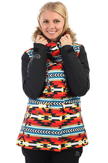 Куртка утепленная женская Rip Curl Chic Ptd Rooibos Tea