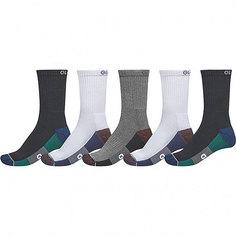 Комлект носков Globe Evan Crew Sport Sock White/Navy/Black