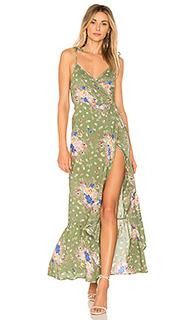 Платье с запахом eve market - AUGUSTE