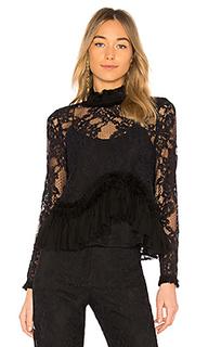 Блузка со шнуровкой karenza - Alexis