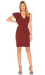 Платье с рюшами спереди asymmetric - Diane von Furstenberg