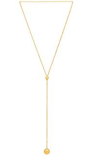 Ожерелье в форме лассо newport - gorjana