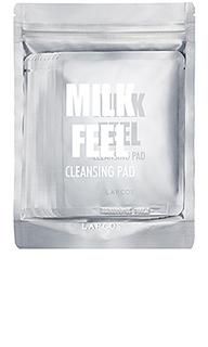 Отшелушивающие очищающие диски milk feel - LAPCOS