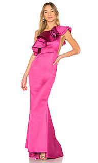 Вечернее платье с открытым плечом joey - Michael Costello