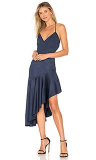 Платье с асимметричным подолом madelyn - Misha Collection