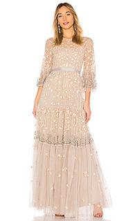 Вечернее платье climbing blossom - Needle & Thread