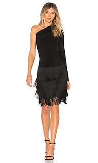 Fringe all in one dress - Norma Kamali