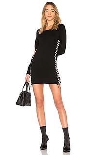 Платье со шнуровкой - Pam & Gela