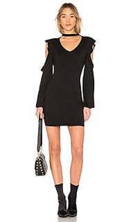 Платье с чокером - Pam & Gela