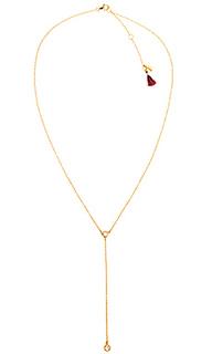 Ожерелье в форме лассо solitaire lariat - SHASHI