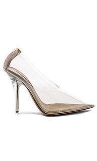 Туфли на каблуке pvc - YEEZY