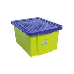 Ящик для хранения игрушек малый 17л, Little Angel, фисташковый