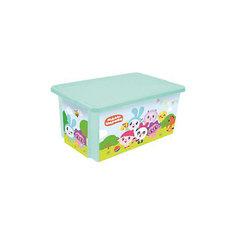 """Ящик для хранения игрушек Little Angel """"Малышарики"""", 17 л."""