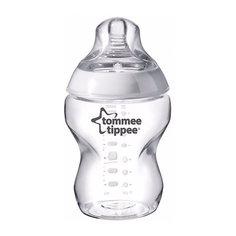 """Бутылочка для кормления Tommee Tippee """"Closer To Nature"""" с антиколиковым клапаном, 260 мл"""