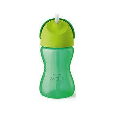 Чашка-поильник с трубочкой Philips Avent, 300 мл, зеленый