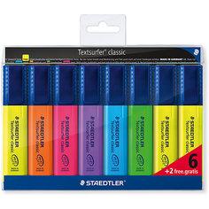 Набор маркеров-текстовыделителей Classic, 8 цветов, 1-5 мм, Staedtler