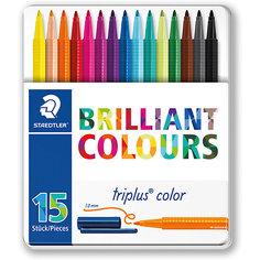 Набор фломастеров Triplus Color, 15 цветов, 1 мм, Staedtler