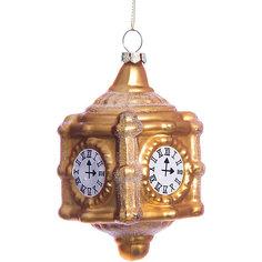 Елочное украшение часы Magic Story