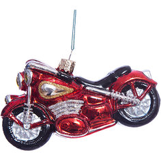 Елочное украшение мотоцикл Magic Story