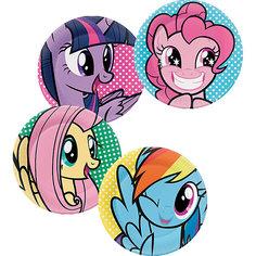 "Набор тарелок для праздника My Little Pony ""Вечеринка Пинки Пай"" 4шт. Daisy Design"