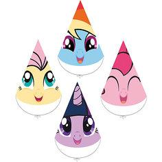 """Набор колпачков для праздника My Little Pony """"Любимый пони"""" 4шт. Daisy Design"""
